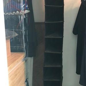 IKEA SKUBB Shoe Organizer; 10 compartments, BLACK